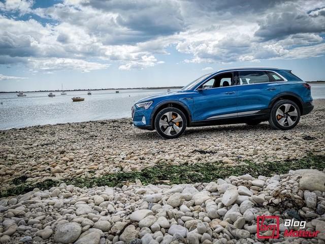 Essai : Audi e-tron 55 quattro : Le véhicule électrique ultime ?