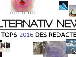 Les Tops 2016 des rédacteurs d'Alternativ News