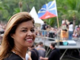 Roseline Lucas candidate aux élections pour Les Avirons