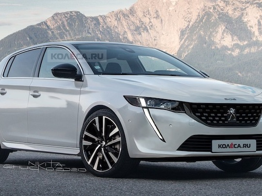 Heureusement, la future Peugeot 308 ne sera pas aussi moche