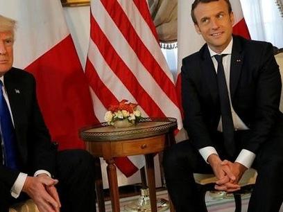 Rencontre entre Trump et Macron : ce qui les divise