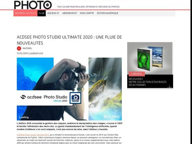ACDSee Photo Studio Ultimate 2020 : une pluie de nouveautés