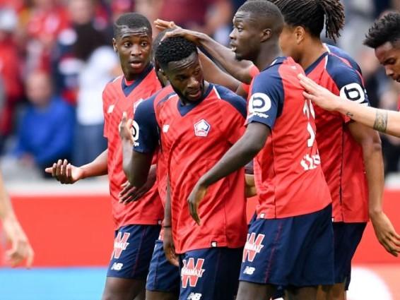 L1 (J9) : Lille conforte sa place de dauphin en dominant Saint-Etienne avec un grand Bamba
