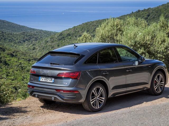 Essai Audi Q5 Sportback 55 TFSI e: plus séducteur que jamais