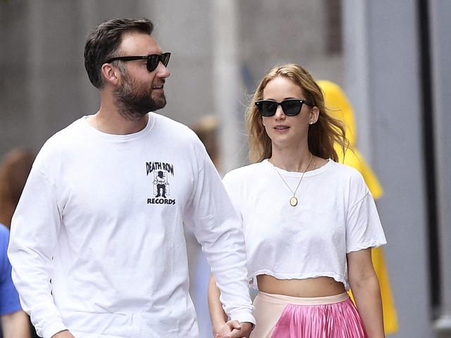 Jour-J : Le mariage (pas du tout sur le thème d'Halloween) de Jennifer Lawrence