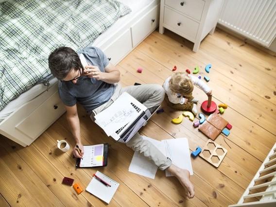 Quelques astuces afin de télétravailler efficacement malgré les enfants à la maison