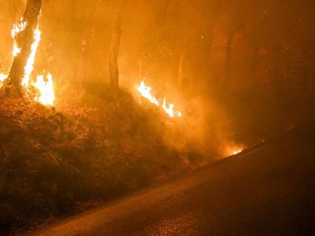 Plus de 3.500 hectares parcourus par un violent incendie dans le sud de la France: 750 pompiers mobilisés, des milliers de personnes évacuées (vidéo)