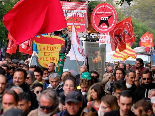 Manifestation du 5décembre: à Paris, un défilé déjà sous tension