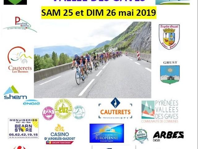 Les équipes retenues pour le Tour des Pyrénées vallées des Gaves - Hervé Ompraret le co-président de l'UC Lavedan communique les équipes retenues pour le 1er Tour des Pyrénées vallées des Gaves qui succède au Tour des 3 Vallées. Le week-end des 25 et 26 mai 26 équipes prendront le départ pour 2 jours de course réservés aux coureurs juniors, sèniors 2ème, 3ème catégorie et PC Open. […] - (Guy DAGOT