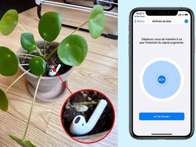 Wunderfind: une app iPhone pour retrouver des AirPods perdus
