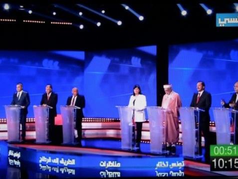 Présidentielle: la Tunisie au rythme de soirées politiques télévisées inédites