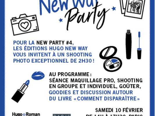 Evénement: New Way Party 4- COMMENT DISPARAÎTRE- SHARON HUSS ROAT