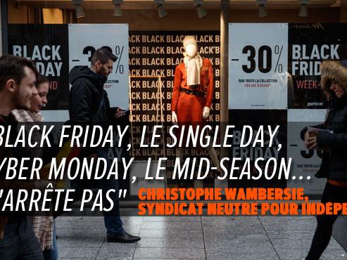 """Les chiffres fous du Black Friday en Belgique: """"Pour les petits commerçants, c'est intenable"""""""