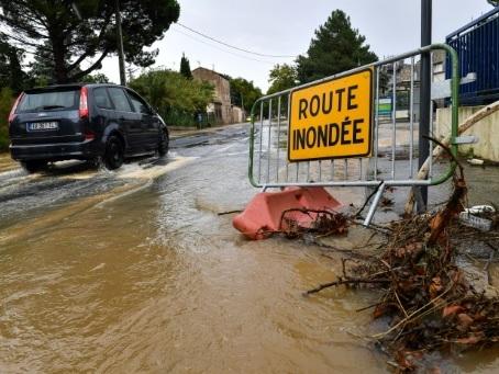 Var, Gard, Hérault, Lozère et Ardèche en alerte orange orages et pluie-inondation