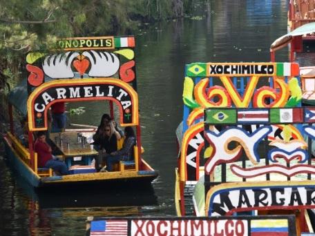 Les gondoles de Xochimilco au bord du naufrage
