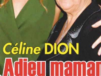 Céline Dion anéantie, sous le choc, elle ne surmonte pas la mort de sa mère (photo)