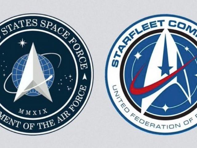 Le logo de la Force armée de l'Espace de Trump rappelle celui de Star Trek