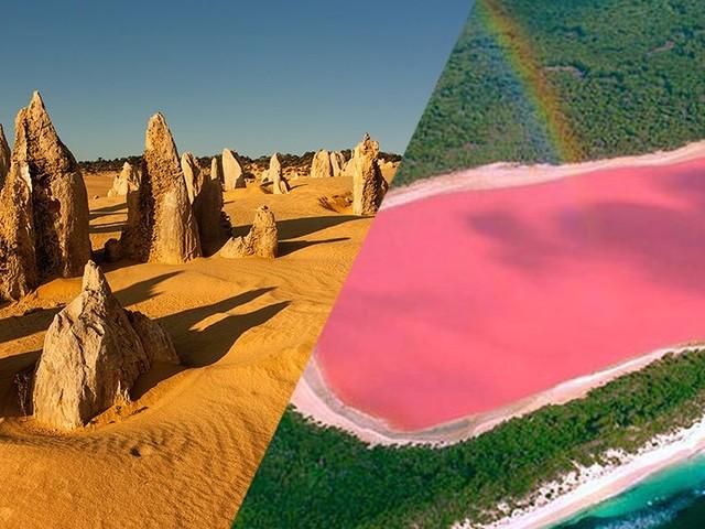 QUIZ : Trouverez-vous dans quels pays il est possible d'observer ces paysages magnifiques ?