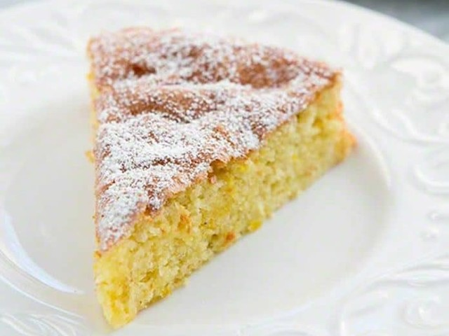 Gâteau au citron et aux amandes au thermomix