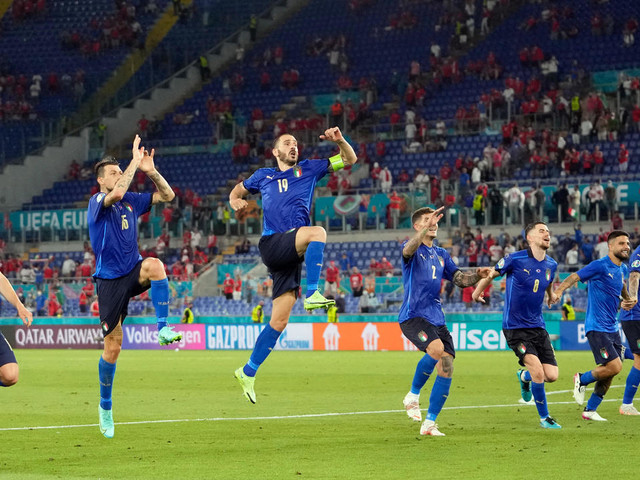 Euro: l'Italie file en huitièmes en asphyxiant la Suisse