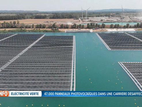 Cette centrale solaire flottante pourrait révolutionner la production d'électricité