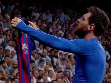 Messi chauffe les fans du Real après son but décisif