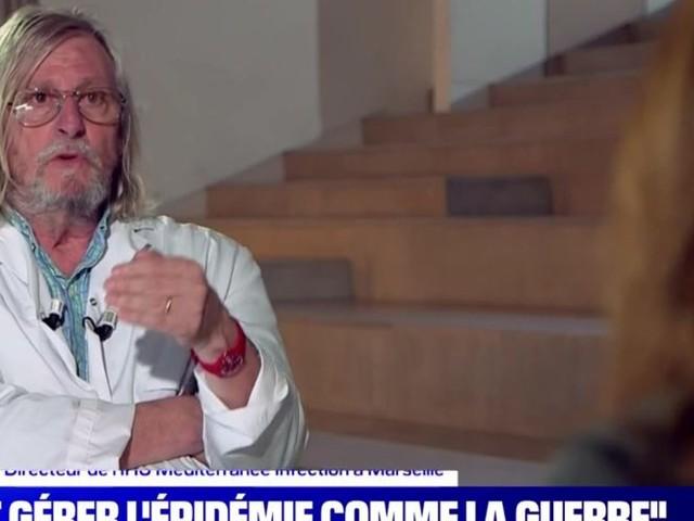 """""""Chut, taisez-vous !"""" : Didier Raoult rabroue Margaux de Frouville sur BFMTV"""