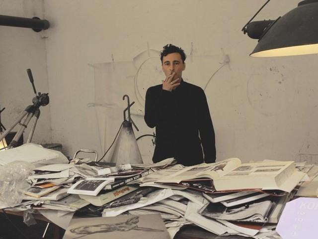 """Stefano Ricci : """"Pour Bartelby, comme pour mes autres peintures, corriger c'est dessiner"""""""