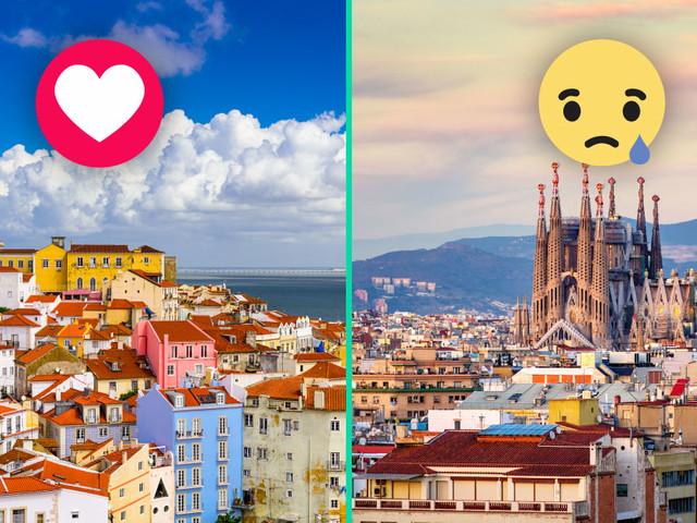 Top 10 des raisons de préférer le Portugal à l'Espagne (et on aurait pu faire un top 1000)