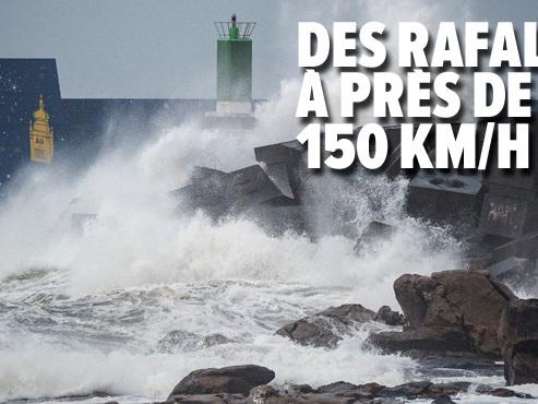 Le tempête Fabien balaye la moitié sud de la France: des crues inédites attendues en Corse