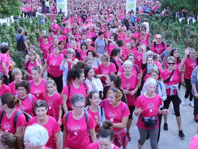 3586 femmes courent contre le cancer du sein à Cahors, un record !