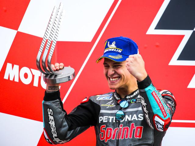 Officiel – Quartararo va prendre la place de Rossi chez Yamaha !