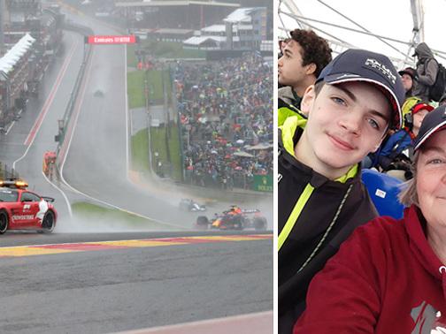 """Isabelle craint de ne jamais revoir son """"budget vacances"""" dépensé à Spa au Grand Prix """"chaotique"""" de F1: pourtant, des """"discussions sont en cours"""""""