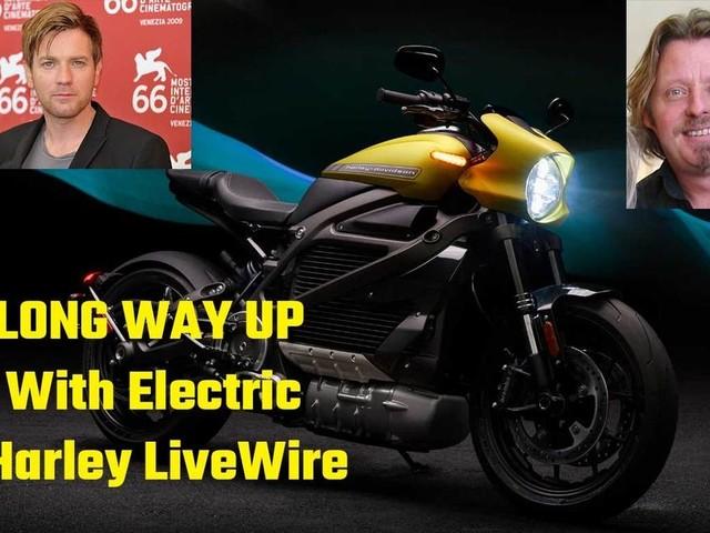 The Long Way Up en Harley-Davidson Livewire