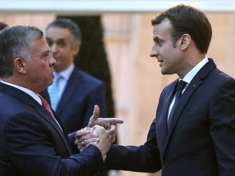 Macron s'est entretenu par téléphone avec le roi de Jordanie