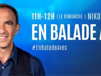 """Nikos Aliagas """"En balade avec"""" Gérard Depardieu ce dimanche 10 décembre 2017"""