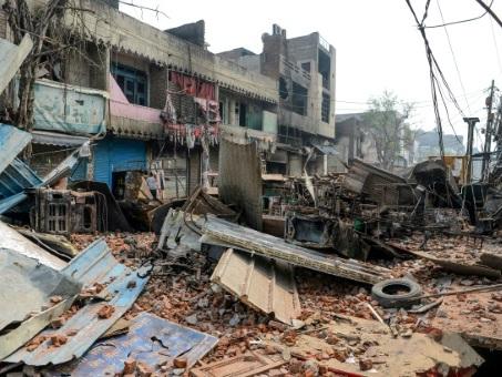 """""""Nous voyions la mort en face"""": Delhi sous le choc après les violences intercommunautaires"""