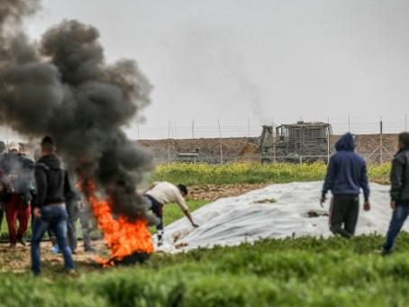 Un Palestinien tué par des tirs israéliens près de la barrière de Gaza