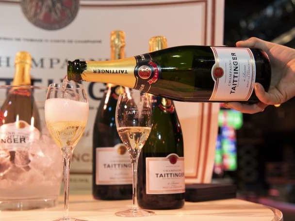 Le champagne échappe aux foudres de Donald Trump