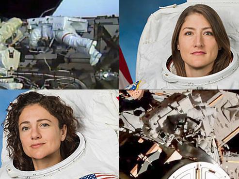 Deux femmes ensemble en sortie spatiale: une première depuis que l'humanité va dans l'espace