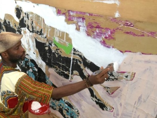 Armand Boua, peintre d'une réalité ivoirienne «fugace et persistante»