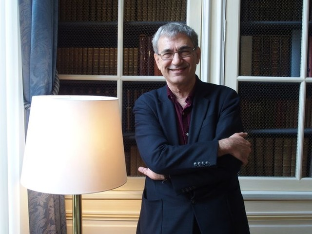 Entretien avec Orhan Pamuk