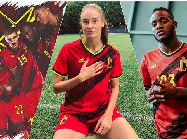 Les Diables Rouges présentent un maillot original en vue de l'Euro 2020