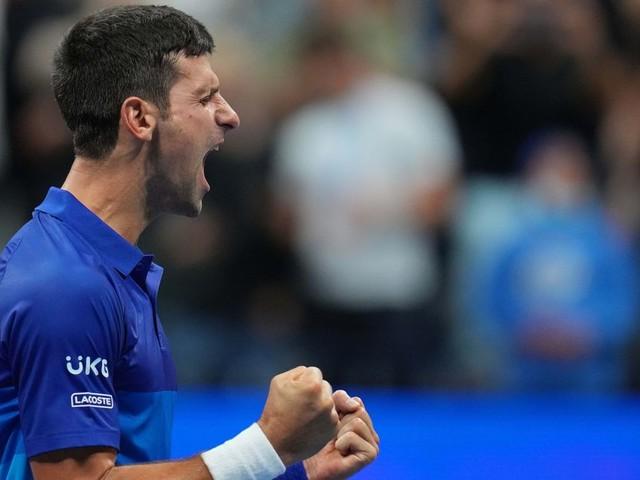 US Open: Djokovic à une finale d'un Grand Chelem historique