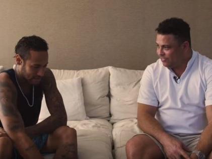 Ronaldo conseille Neymar sur ses blessures