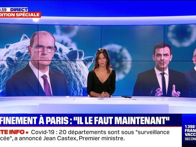 Édition spéciale: La mairie de Paris propose un confinement de 21 jours dans la capitale - 25/02