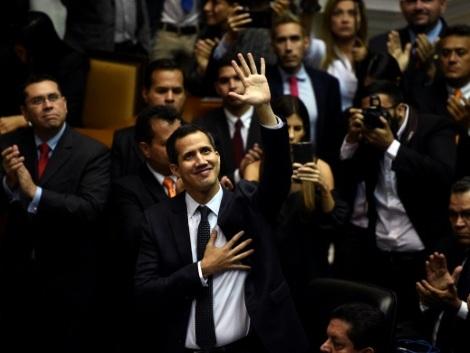 Venezuela: une nouvelle année dans l'opposition pour Guaido ?