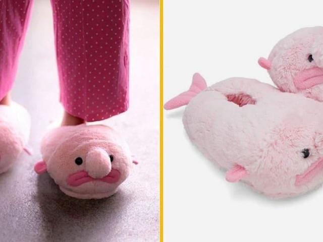 [TOPITRUC] Des chaussons blobfish, pour avoir des pieds moches mais chauds