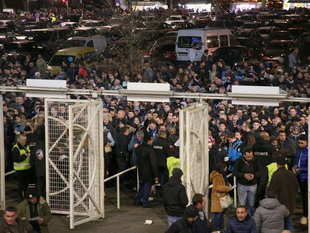 Les supporters du Pau FC dans les starting-blocks avant la réception du Paris Saint-Germain