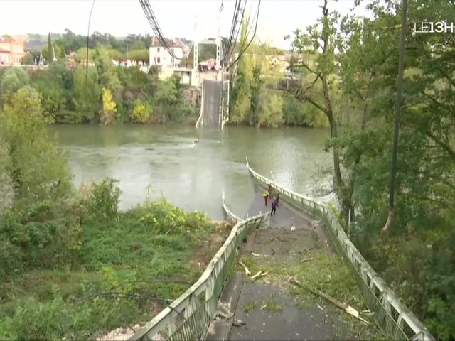 Effondrement d'un pont à Mirepoix-sur-Tarn : le bilan provisoire fait état d'un mort et de cinq blessés